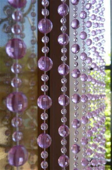 purple beaded curtains purple beaded curtain iridescent swirl that bohemian