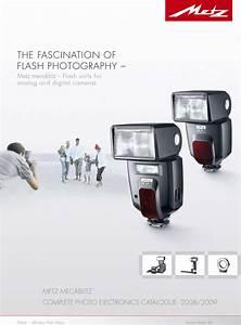Metz Camera Flash Light Users Manual