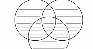Venn Diagram Template Using Three Sets