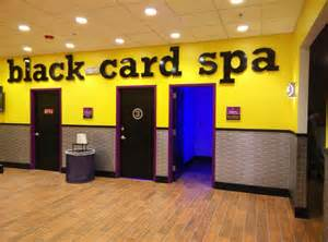 black card membership massage chairs tanning beds