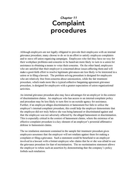 Best Photos of Formal Complaint Letter Against Supervisor