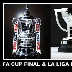 Live Updates: FA Cup final and La Liga decider