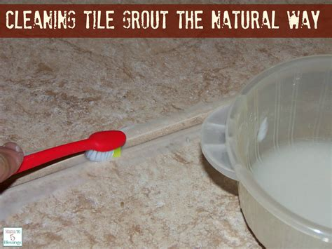 grout cleaning cleaning tile grout the natural way