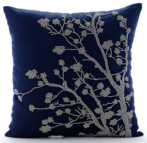 Navy Blue And Silver Throw Pillows 22 top 20 throw pillow covers