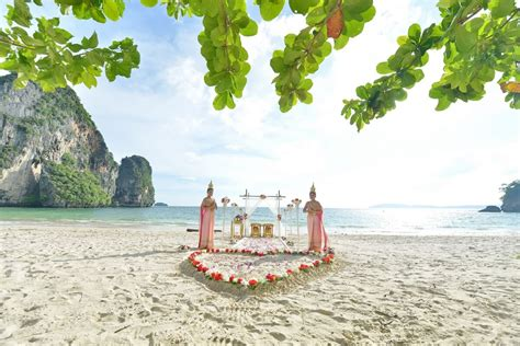 Railay Bay Traditional Thai Wedding Ceremony Package