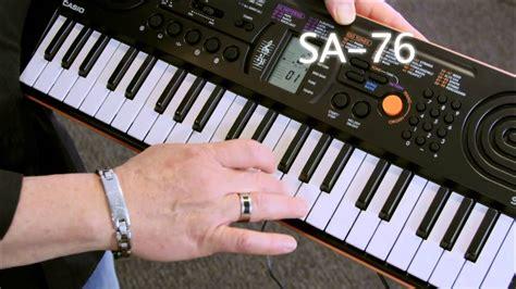 Casio Sa76 by Casio Sa76 Mini Keyboard Casio Select Workshop
