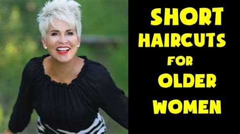 Short Haircuts For Older Women 2018