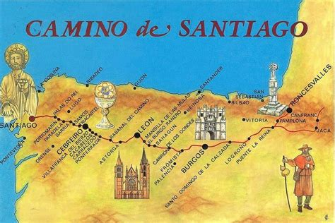 el camino de santiago el camino de santiago vamos