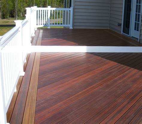 rated composite deck material house style design