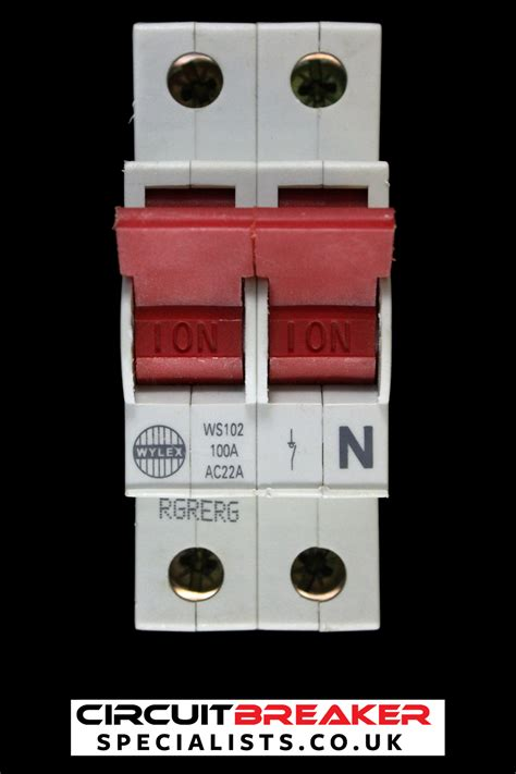 wylex 100 pole switch disconnector ws102 ac22a 5013601013190 ebay
