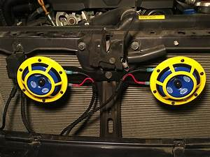 2010  Outback  118db Hella Supertone Horns Install  W