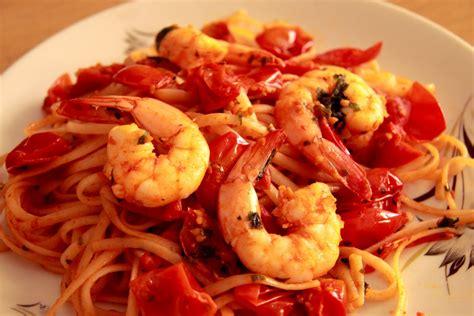 italie cuisine allaboutlife pasta con gamberi e pomodorini pasta with