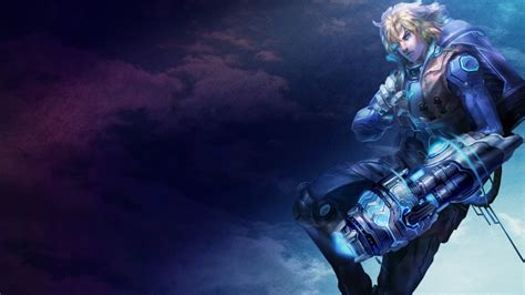pulsefire ezreal league  legends wallpapers art  lol
