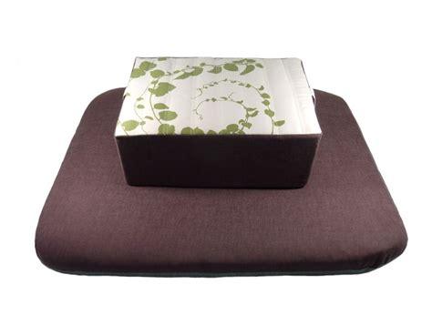 coussin de meditation coussin pour la m 233 ditation zafu rectangulaire avec un tissu d 233 coratif magnifique
