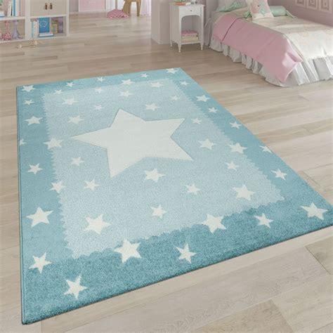 laagpolig tapijt voor de kinderkamer stermotief tapijt