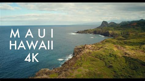 scenic west maui hawaii mavic pro  youtube