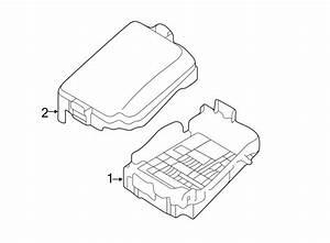 91950a5711 - Hyundai Fuse Box Cover  Upper Cover  R J  Box  Engine Compartment