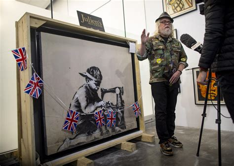 Artist vows to destroy Banksy mural after buying it for £ ...
