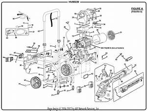 Homelite Hu80220 Electric Pressure Washer Parts Diagram For Figure A