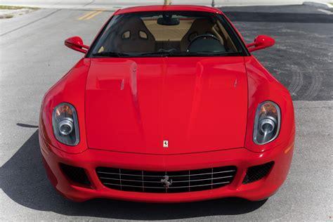 To increase driving pleasure, to guarantee performance (courtesy of technology. Used 2007 Ferrari 599 GTB Fiorano F1 For Sale ($139,900) | Marino Performance Motors Stock #150131