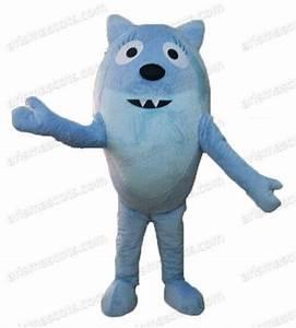 Am0244 Yo Gabba Gabba Toodee Mascot Costume Cartoon ...