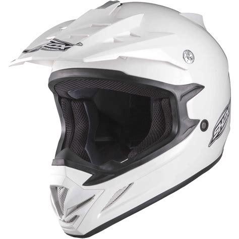 white motocross helmet shox mx 1 solid white motocross helmet quad off road mx