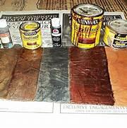 Sammar Faux Painting Techniques Leather  Faux Finish