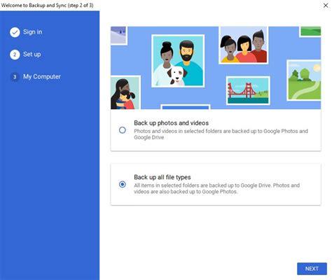 Google's Backup & Sync