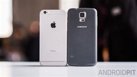 samsung galaxy s5 vs iphone 6 test comparatif iphone 6 vs samsung galaxy s5 androidpit