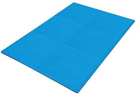 balancefrom puzzle exercise mat with foam interlocking