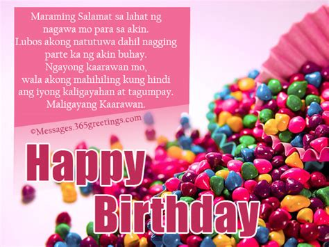 birthday quotes for me tagalog