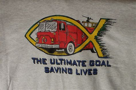 The Ultimate Goal Saving Lives Firefighter