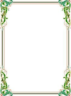 elegant page borders ghg pinte