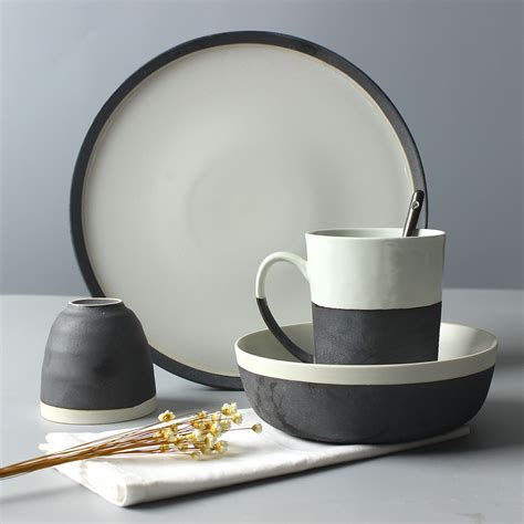 dinnerware sets cheap quality bargain inexpensive tableware plate plates bowl