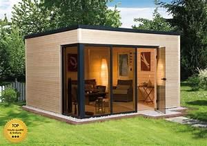 chalet en bois jardin pas cher les cabanes de jardin With sauna maison pas cher