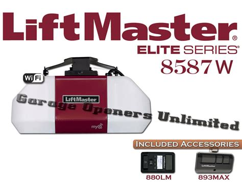 liftmaster  elite series  hp ac chain drive wi