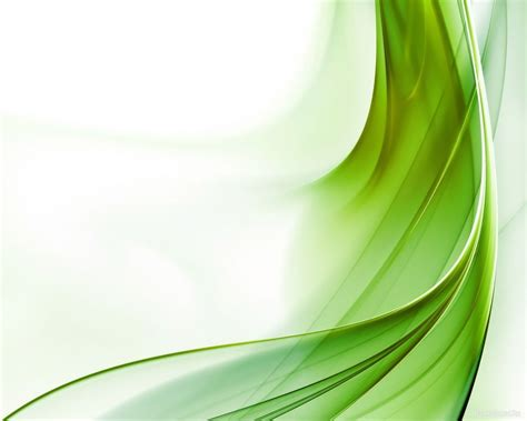 green wave abstract backgrounds  powerpoint templates