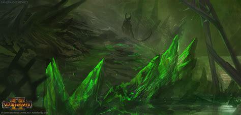 artstation total war warhammer  skaven underground