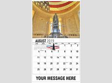 America the Beautiful Patriotic Promotional Calendar US