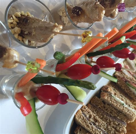 canapes de luxe buffet service in cardiff south wales