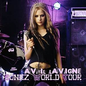 Bonez World Tour [FanMade Album Cover] - Avril Lavigne Fan ...