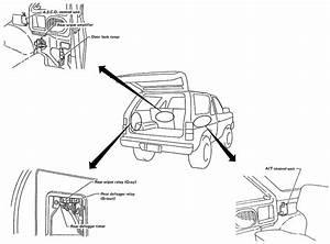 I Have A 1992 Nissan Pathfinder Se 4wd  Power Door Locks