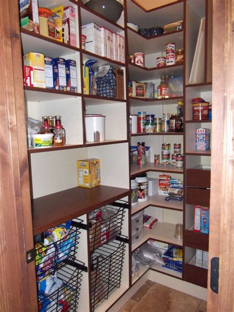 Great Pantry Designs by Awsome Walk In Pantry Awesome White Wooden Style