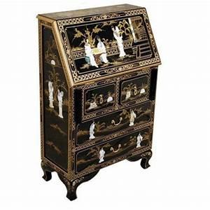 Meuble Secrétaire Ancien : secr taire chinois meubles ~ Teatrodelosmanantiales.com Idées de Décoration
