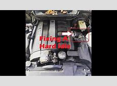 BMW E36 Throttle Body Hose Replace Idle Issues YouTube