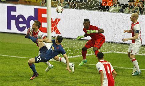 Ajax Manchester United Happened Full Time