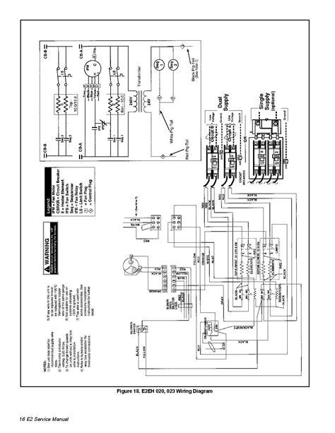 electric furnace wiring diagrams e2eb 015ha electric