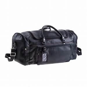 Sac De Voyage Cuir Homme : grand sac de voyage cuir noir avec compartiments pour ~ Melissatoandfro.com Idées de Décoration