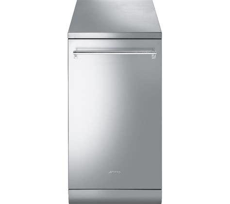 Buy Smeg Df4ss1 Slimline Dishwasher  Stainless Steel