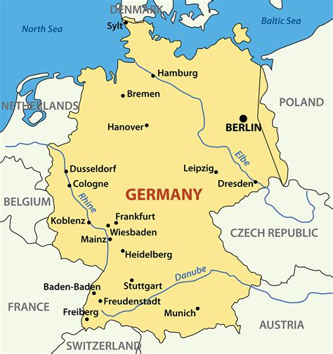 clear germany clipart map collection